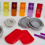 Plastic molds and molding for consumer packaging, food & beverage, personal care, etc