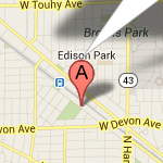 Janler is located in the northwest Chicago neighborhood of Edison Park