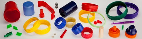 Plastic injection molding and molds for household and industrial applications