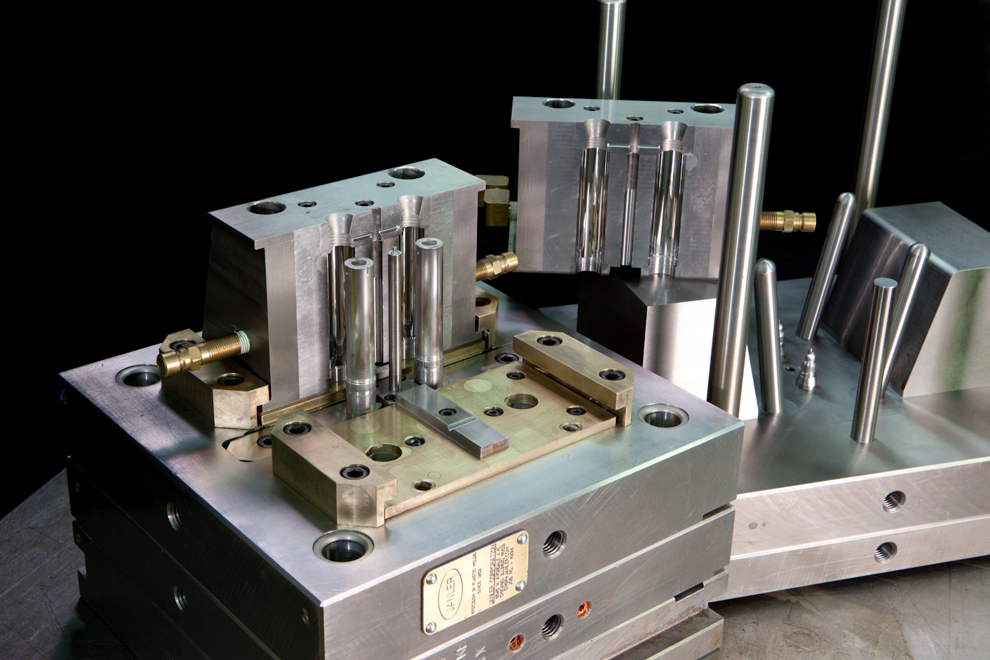 Prototype and production plastic injection molds