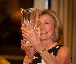 Carol Ebel wins the Rose Mottl award as an 'Outstanding Woman in Manufacturing'